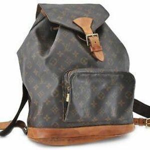 Authentic Louis Vuitton backpack montsouris gm